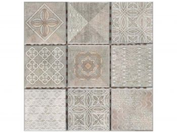 Tile Mosaic Galleria Ivory 300x300 Per Sheet 1M DESP300PS006
