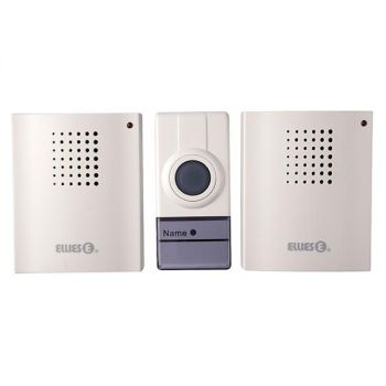 Ellies Wireless Digital Doorbell c/w 2 Receivers BDBWD1
